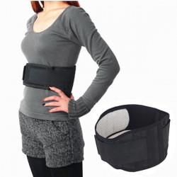 Tourmaline Therapy Waist Belt Brace Heating Band Support Strap Pad