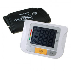 Upper Arm Digital Sphygmomanometer Blood Pressure Monitor Meter