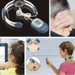 Vibrerande Behandling Nacke Massering Halskotan Therapy Instrument Hälsa
