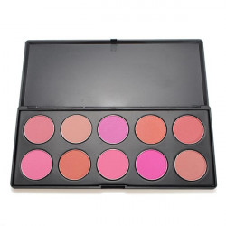 10 farver makeup Cosmetic Blush Powder Palette