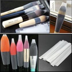 10stk Kosmetiske Børster Pensler Pen Guard Skede Mesh Beskyttere Cover