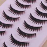 10 Par Naturliga Lösögonfransar Eye Lash Makeup