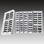 10 Pairs Fashion Black Long Volume False Eyelash Eye Makeup 007