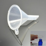 10Pcs Mini Clear Plastic Perfume Liquid Oil Bottle Funnels Makeup