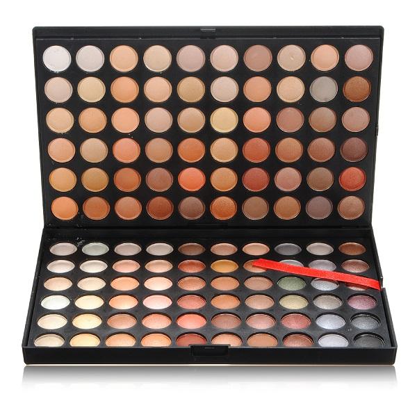120 Colors Øjenskygge Palette Makeup Case Øje Kosmetiske Sæt Makeup