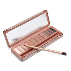 12 Colors Long-lasting Ultra-smooth Brush Naked Eye Shadow Palette