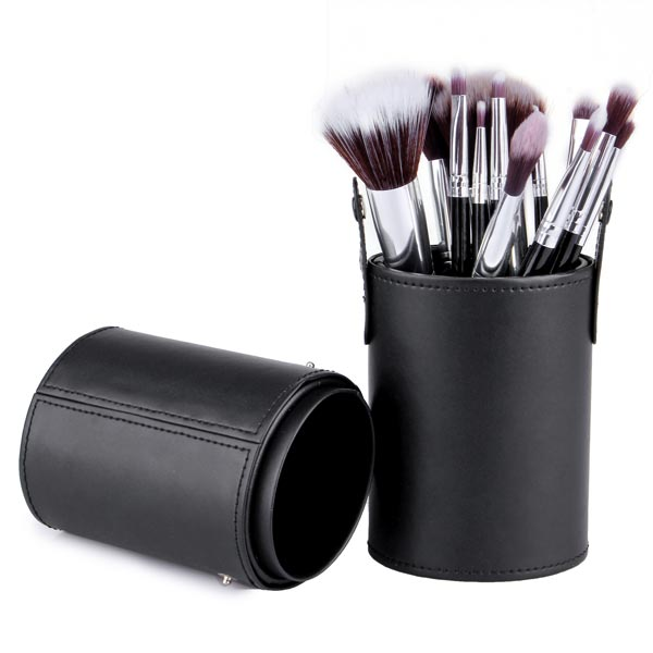 12 Pcs Cosmetic Brushes Set Cup Holder Makeup Tools Makeup