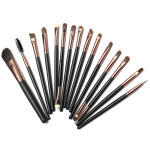 15Pcs Eye Shadow Makeup Cosmetic Foundation Powder Brushes Set Makeup
