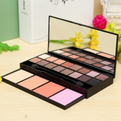 16 Colors Eyeshadow Makeup Powder Cosmetic Blush Palette Set