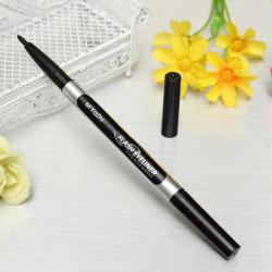 2 Way Smoothing Waterproof Liquid Eyeliner Pencil Cosmetic Makeup Pen