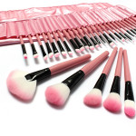 32 PCS Pink Eyeshadow Eyebrow Blush Makeup Brushes Cosmetic Set Makeup