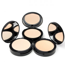 3 Colors Sugarbox Compact Face Makeup Pressed Powder