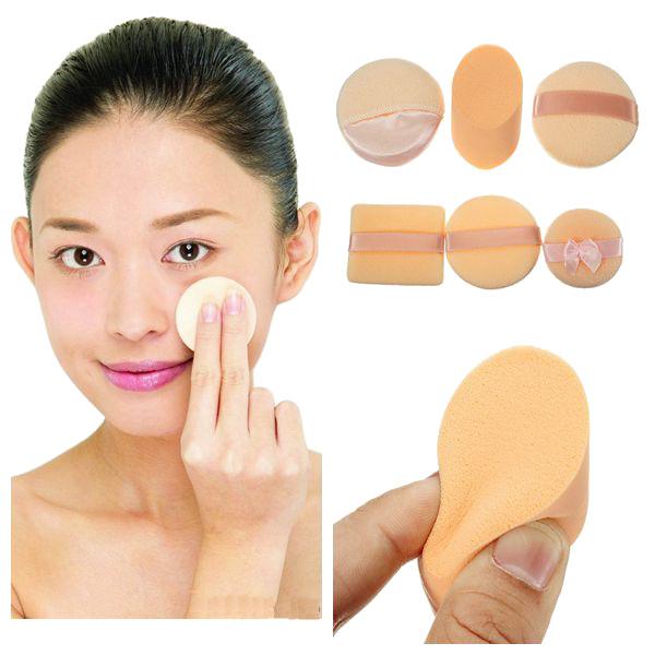 3Pcs Facial Cosmetic Soft Makeup Sponge Powder Puffs Set Makeup