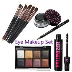 4 Væsentlige Værktøj Kit Kom I Gang Øje Makeup Sæt Kosmetik