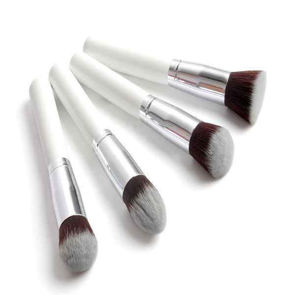 4 PCS Professional Powder Brush Facial Care Cosmetic Makeup Brush Tool Makeup