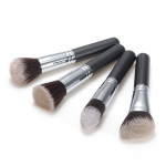 4stk Fiber Cosmetics Makeup Blush Loose Pulver Børste Pensel Sæt Makeup