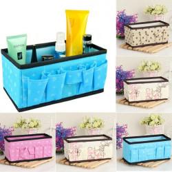 5 Colors Multifunction Folding Makeup Cosmetics Storage Box