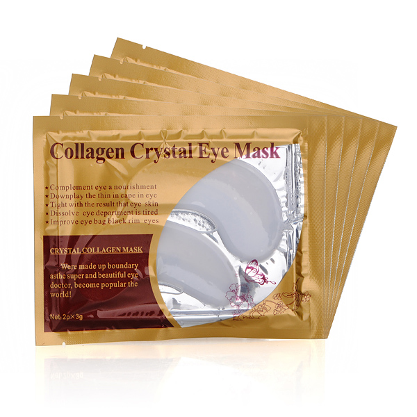 5 Par Collagen Crystal Øjenmaske Makeup