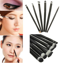 6PCS Eyeshadow Eyeliner Makeup Brushes Cosmetics Brush set