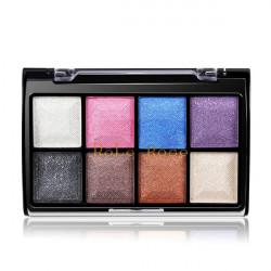 8 Farve Øjenskygge Palette Og 2 Blush Pulver Makeup Kosmetiske Suit
