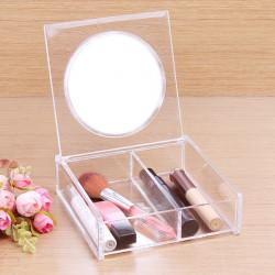 Akryl Clear Kosmetisk Förvaring Makeup Förvaring Organizer
