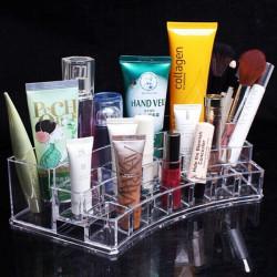 Akryl Klar Kosmetiske Container Makeup Opbevaring Organizer