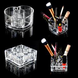 Acrylic Transparent Cosmetic Organizer Makeup Storage Box Container