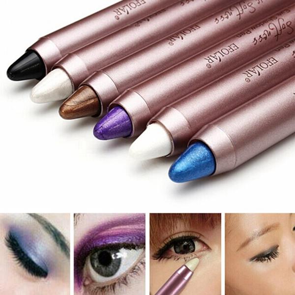 Cosmetic Waterproof Eyeshadow Pen Eyeliner Eyebrow Pencil Makeup