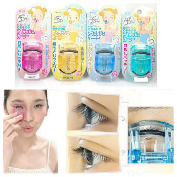 Cute Mini Portable Eyelash Curler Lashes Curling Tool Makeup