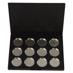 Empty Magnetic Makeup Eyeshadow Concealer Pigment Aluminum Palette Pan