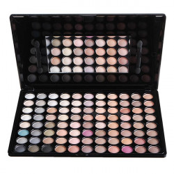 MSQ 88 Colors Makeup Cosmetic Eyeshadow Palette Earth Tone Series