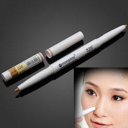 Makeup Dark Circle Akne Natural Color Ivory Vit Concealer Pen