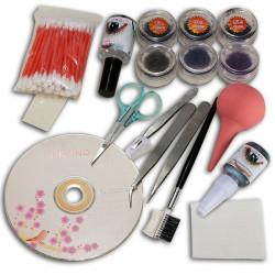 Makeup Falsk Fake Øjenvipper Øjenvipperes Extension Kosmetiske Sæt Kit