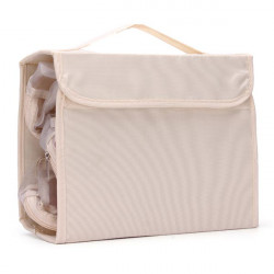 Portable Nylon Foldable Travel Wash Cosmetic Storage Bag