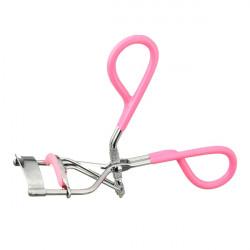 Portable Pink Makeup Eyelash Clip Cosmetic Curler Curling