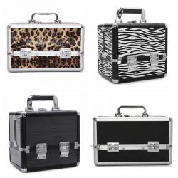 Pro Aluminium Abschließbare Makeup Zug Kasten Kasten Spielraum kosmetischer Container