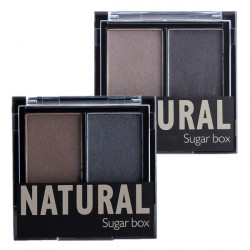 Sugarbox Dual Shade Øjenbryn Pulver Øje Makeup