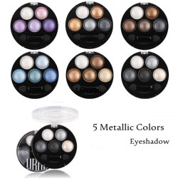 UBUB 5 Colors Eyeshadow Metallic Shimmer Eye Shadow Powder