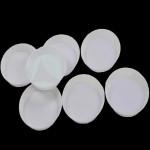 10stk Plast Rhinestone Runde Bakke Plate Negle Værktøj Negle