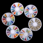 10 pcs 3D Gems Cone Stud Crystal Beads Stone Nail Art Decoration Wheel
