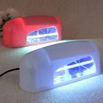 110V / 220V Pro 9W UV Lampe Nagellack UVnagelgel Aushärtungslampe Nageldesign