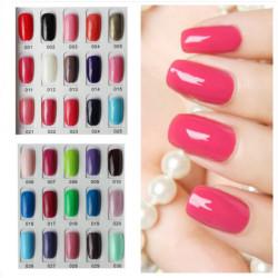 120 Farve Nail Art Soak Off LED UV Gel Polish 15ml 001-030