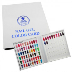 120 Färger Nagellack Display Diagram UV Gel Färger Card