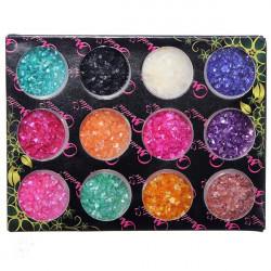 12 Colors Shell Powder Nail Art Decoration