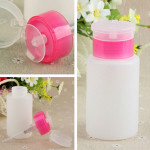 150ML Squeeze Pump Polish Dispenser Empty Bottle Nail Art