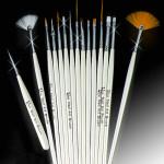 15 Nail Art Design Painting Draw Pen Polish Brush Set Nail Art