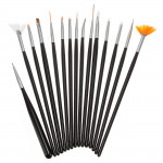 15PCS Nail art Design Gel pen Painting Tips Dotting Brush Set Nail Art