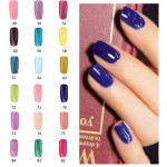 18ml Nagelkonst 49-84Color Soak Off Färg UV Gel Polish Nagellack Naglar
