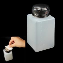 200ml Leer Nagellackentferner Flüssigkeitsdruckpumpe Spenderflasche