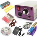 25000 Rpm Elektrisk Nagelkonst Drill Maskin Set Manikyr Kit Naglar